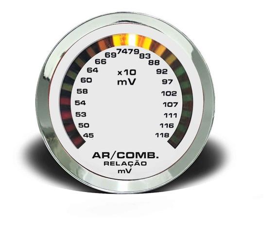 Hallmeter Escala Cronomac Cromo 60mm