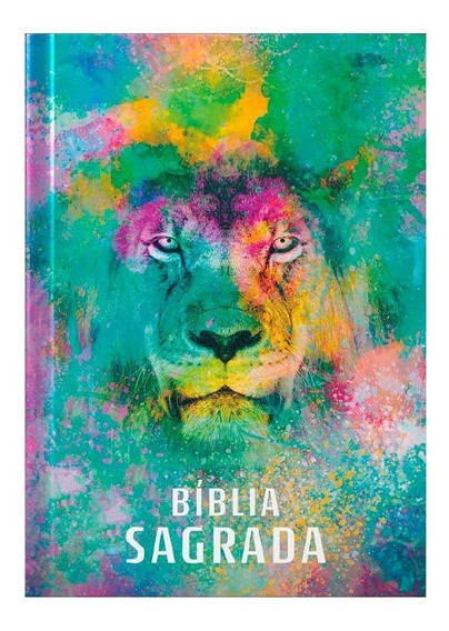 Bíblia Sagrada | Letra Média | Acf | Capa Dura | Leão Color