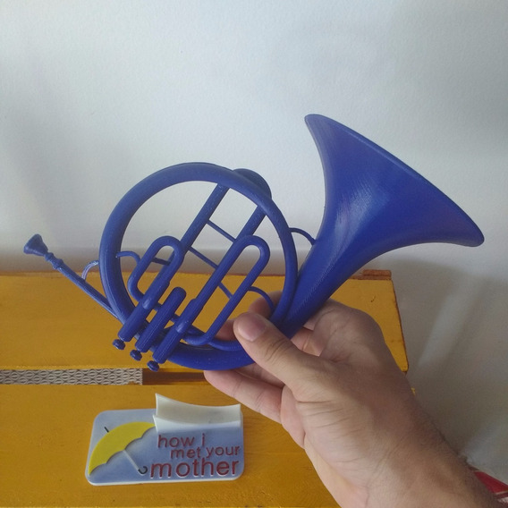Trompa Azul M(blue Tromp Horn) How I Met Your Mother +brinde