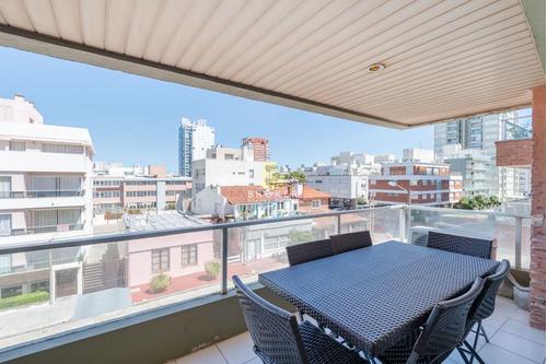 Alquiler Anual Apartamento Punta Del Este Peninsula 3 Dorm