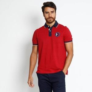 Camisa Polo Fit Piquê - Vermelho Tam. Egg Tommy Original