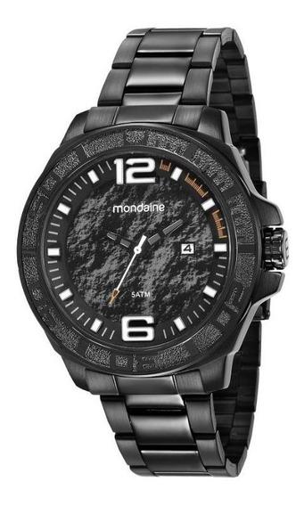 Relógio Mondaine Pulso Feixo Metal Mascu Adulto 99281gpmvps1