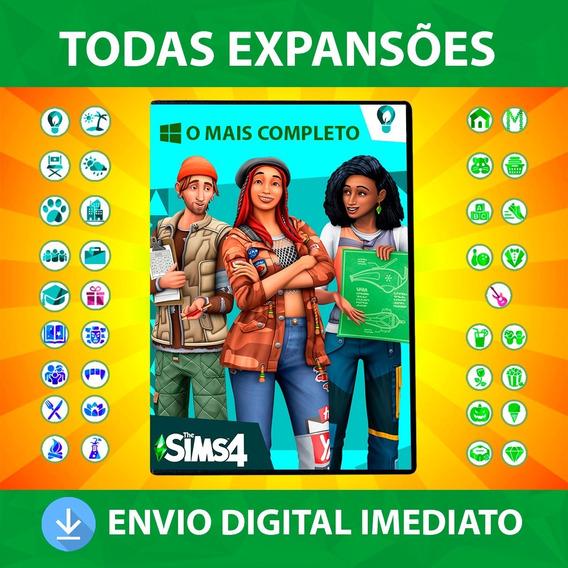 The Sims 4 + Todas Expansões + Dlc + Pacote Pc Digital 2020
