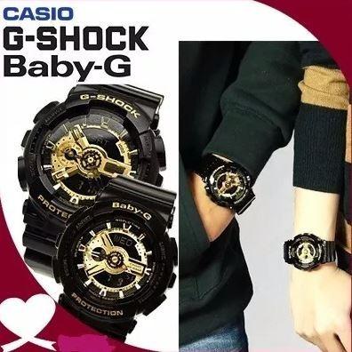 0433eb940b87 Relojes Parejas Casio G-shock Lovers Ga-110 Original 2018 -   83.990 en  Mercado Libre