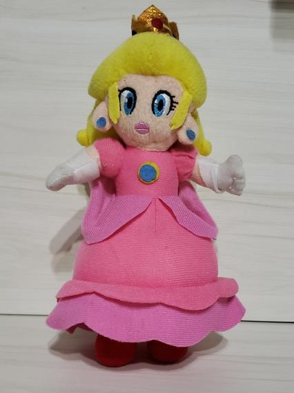 Pelúcia Princesa Peach 18 Cm Super Mário Bross