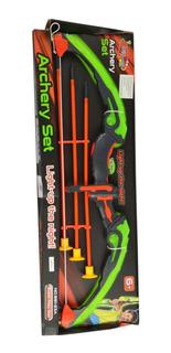 Arco Y Flecha Archery Set Con Luz Flechas Lyon Toys @ Mca