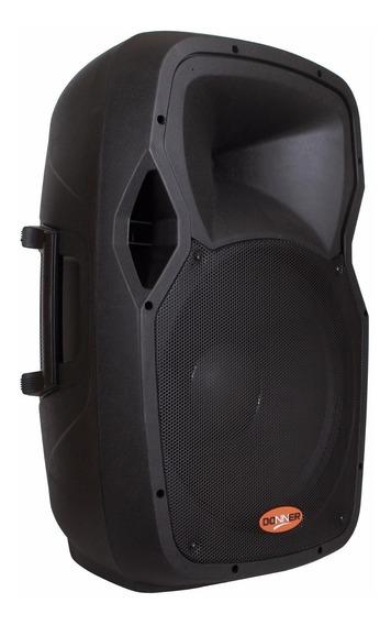 Caixa De Som Ativa Amplificada Edge15 Bluetooth 300w Rms Nca