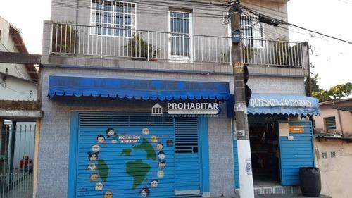 Sobrado Com 4 Dormitórios À Venda, 600 M² Por R$ 700.000,00 - Jardim Maria Fernandes - São Paulo/sp - So3257