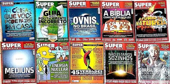 10 Revistas Superinteressante + 9 Revistas Como Funciona