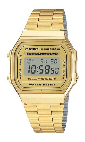Relógio Casio Vintage A168wg-9wdf C/ Nota Fiscal