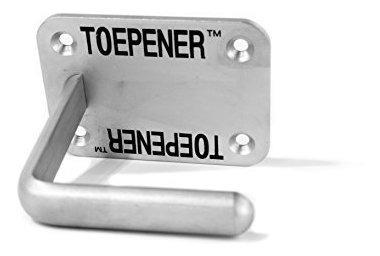Toepener - Abrepuertas Manos Libres. Sin Contacto, Acero Ino