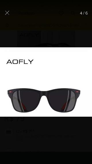 Óculos De Sol Aofly Tr90 Polarizado