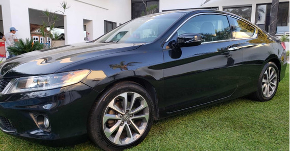 Honda Accord 3.5 Ex Sedan V6 Piel Abs Qc Cd Nav Cvt 2013