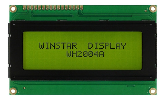 Oferta Display Lcd Winstar 2004 20x4 Wh2004a-arduino/pic/avr