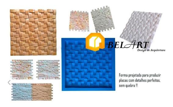 Forma Molde Silicone Paredes De Casa 3d - Gesso E Cimento 2