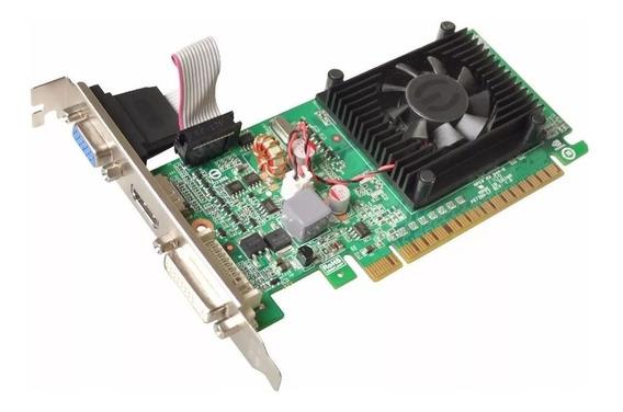 Placa De Vídeo Evga Geforce 210 Ddr3 1gb - Lacrada