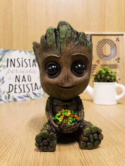 Baby Groot - Cestinho - O Guardião Das Galáxias - Decoração