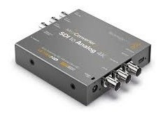Blackmagic Mini Converter Sdi To Analog With Embedded Audio