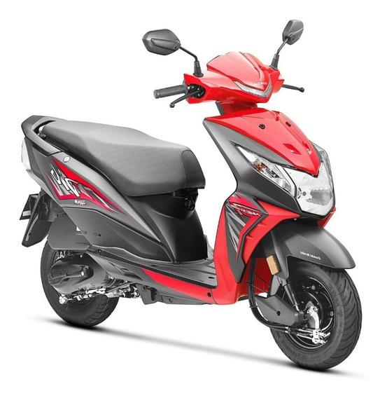 Moto Honda Dio 2019 - Color Rojo, Seminueva, Frenos Cbs