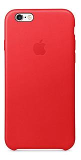 Leather Case iPhone 6 6s Plus Apple Original Vidrio Gorila