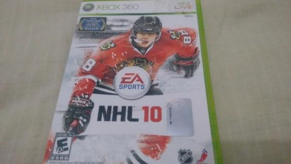 Nhl 10 - Xbox360 - Completo
