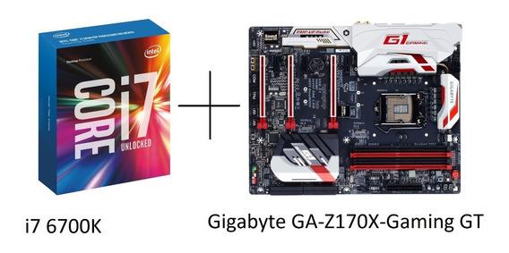 Gigabyte Ga Z170x Gaming Gt Z170x Z170 + I7 6700k