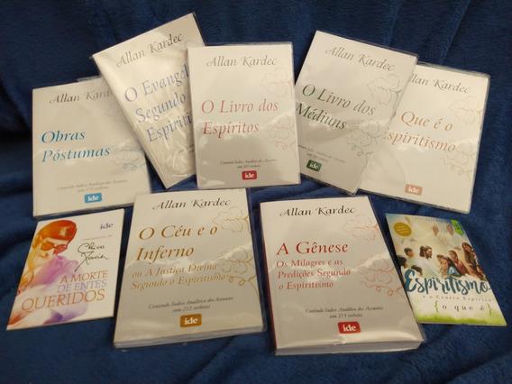 Kit Kardec Completo 7 Livros Doutrina Espírita Com Brindes