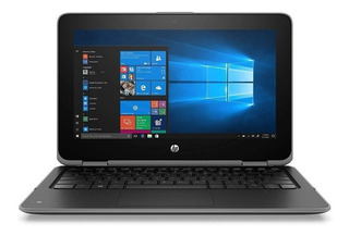 Notebook Hp X360 Quadcore / 128gb + 8gb / Touch W10 Pro 11g3