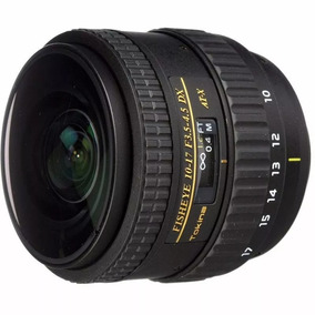 Lente Tokina P/ Canon 10-17mm F/3.5-4.5 At-x Dx Fish Eye.