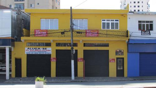 Salão Comercial Independente Autonomistas Centro 43m2 (leia)