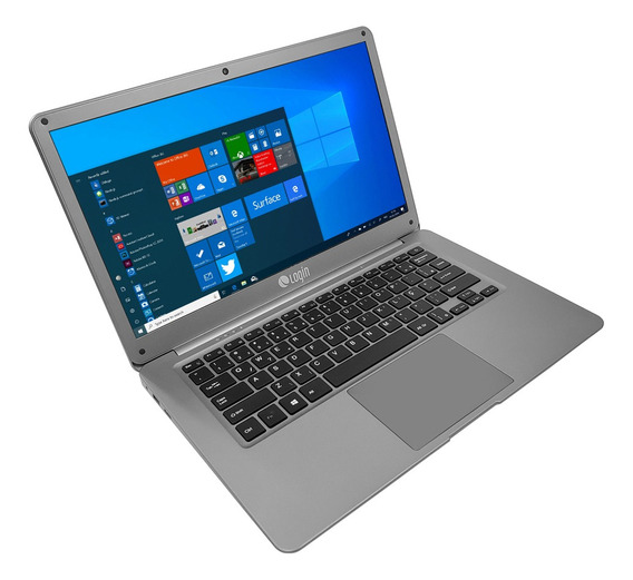 Notebook Login Intel Celeron Win 10 Ssd 32gb 4gb Hd 500gb