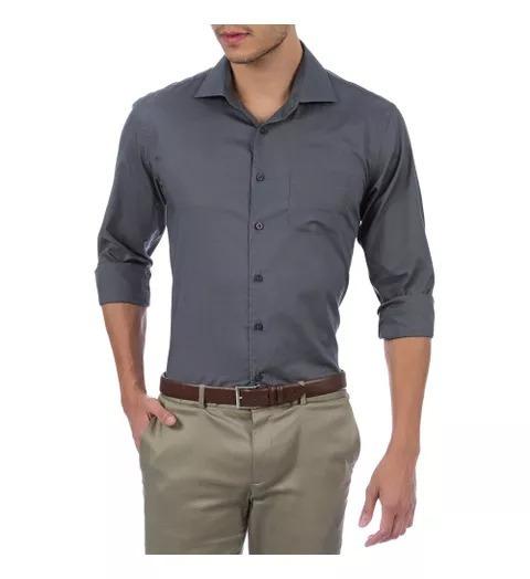 2 Camisas Social Direto Da Fabrica Promoçao Especial