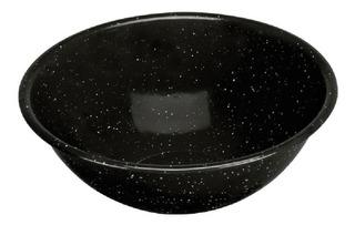 Tazon Bola Peltre Negro 18cm Cinsa Caja C/6 Pzs.