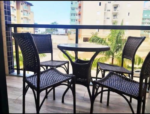 Imagem 1 de 14 de Apartamento Ubatuba Praia Grande Vista Parcial Mar Alugo
