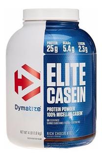 Elite Casein Caseina 1.8kg - Dymatize - Canela / Baunilha