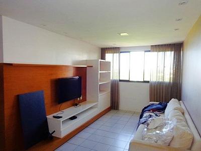 Apartamento Com 3 Quartos À Venda, 90 M², Mobiliado, 2 Vagas, Financia - Cocó - Fortaleza/ce - Ap1633
