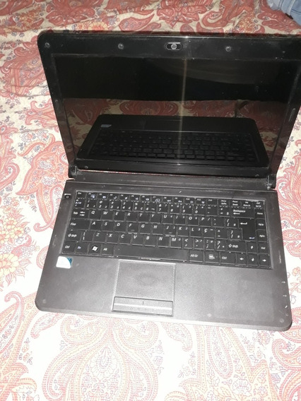 Notebook Positivo Intel Duo Core 4gb 320gb (com Defeito)