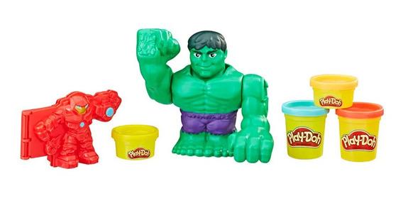 Massa De Modelar Play-doh Combate Hulkbuster Hasbro E1951