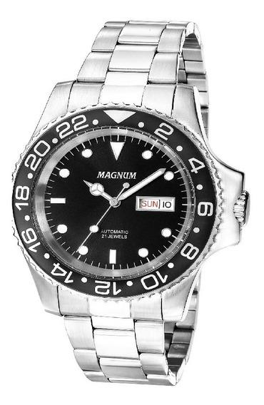 Relógio Magnum Automático Masculino Ma33844t