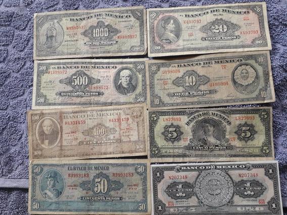 Billetes American Bank Note De 1 Hasta 1000 Pesos