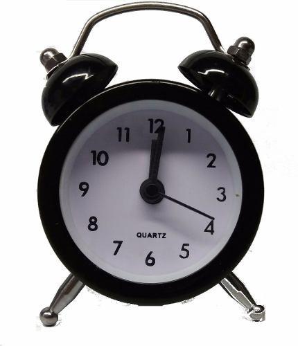 Imagem 1 de 6 de 100 Un Mini Despertador Relógio Vintage Souvenir Retro Festa