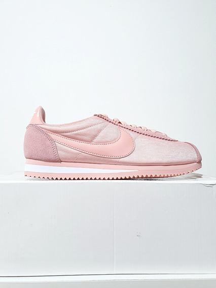 Tênis Nike Cortez Nylon Feminino Casual Rosa N. 38