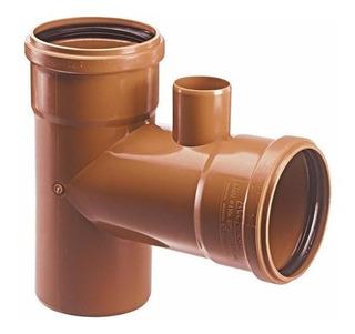 Ramal Simple Awaduct Con Ventilación 110 Mm M-h V/50 Mm