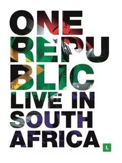 Dvd One Republic - Live In South Africa - Novo!!