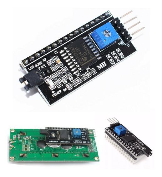 Modulo Serial I2c Iic Para Lcd 16x2 E 20x2 Arduino *100208
