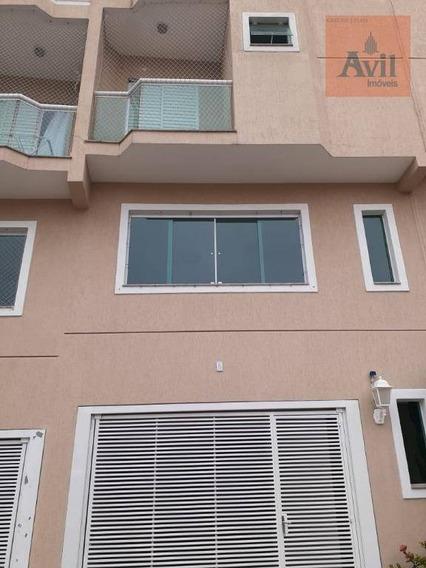 Sobrado Com 3 Dormitórios, 127 M² - Venda Por R$ 500.000,00 Ou Aluguel Por R$ 2.500,00/mês - Vila Nova Savoia - São Paulo/sp - So0669