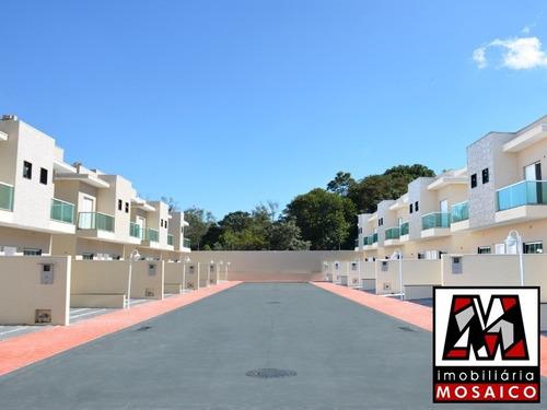 Imagem 1 de 12 de Casas Novas Em Condomínio Fechado Com Lazer Na Colonia - 22936 - 34178694