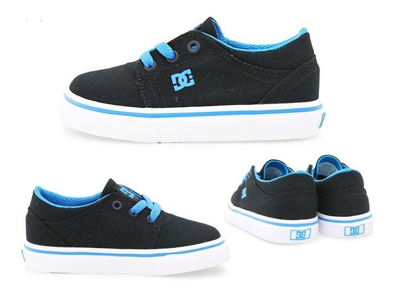 Tenis Dc Shoes Youth Trase Textil Talla 16cm