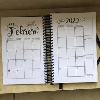 Agenda Diaria 2020 Imprimible Pdf Lettering Ballenny
