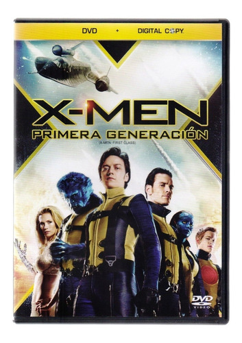 X-men Primera Generacion First Class Marvel Pelicula Dvd
